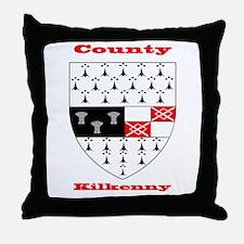County Kilkenny COA Throw Pillow