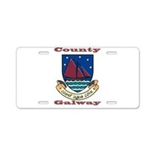 County Galway COA Aluminum License Plate