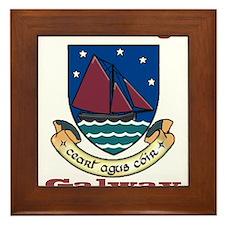 County Galway COA Framed Tile