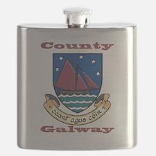 County Galway COA Flask