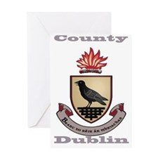 County Dublin Coat of Arms Greeting Cards