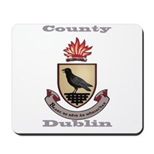 County Dublin Coat of Arms Mousepad