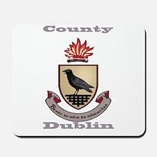 County Dublin Coat of Arms Mousepad