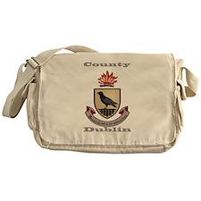 County Dublin Coat of Arms Messenger Bag