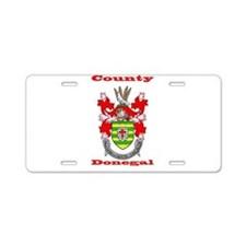 County Donegal COA Aluminum License Plate