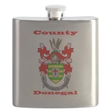 County Donegal COA Flask