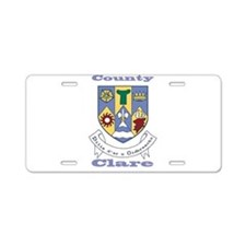County Clare COA Aluminum License Plate