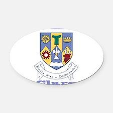 County Clare COA Oval Car Magnet