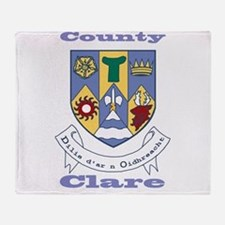 County Clare COA Throw Blanket