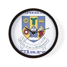 County Clare COA Wall Clock