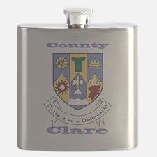 County Clare COA Flask
