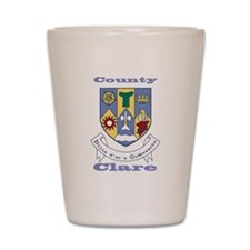 County Clare COA Shot Glass
