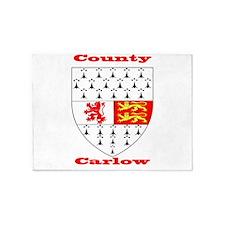 County Carlow COA 5'x7'Area Rug