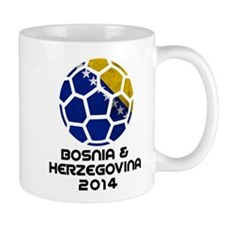 Bosnia-Herzegovina World Cup 2014 Mug