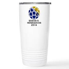 Bosnia-Herzegovina Worl Travel Mug