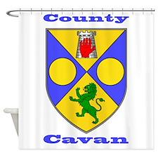County Cavan COA Shower Curtain