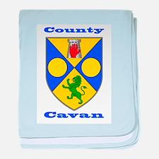 County Cavan COA baby blanket