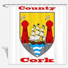County Cork COA Shower Curtain