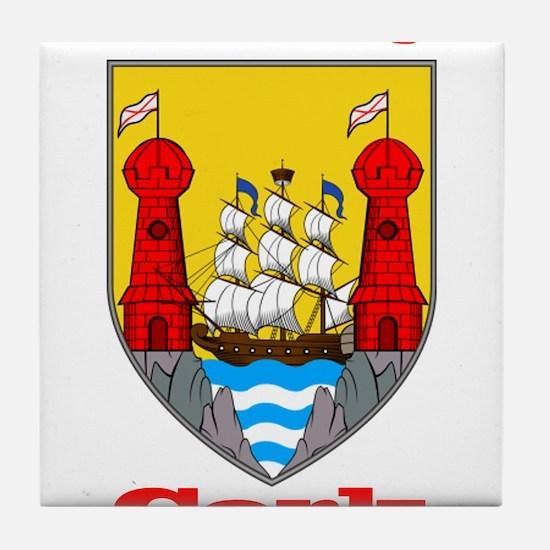 County Cork COA Tile Coaster