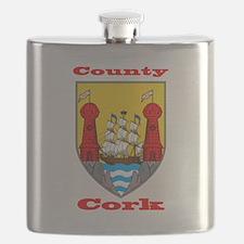 County Cork COA Flask
