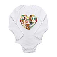 Nigeria World Cup 2014 Long Sleeve Infant Bodysuit