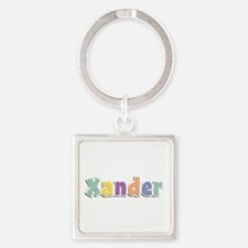 Xander Spring14 Square Keychain