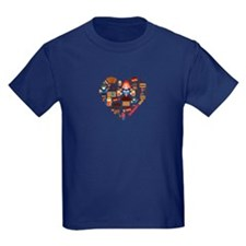 Germany World Cup 2014 Heart T