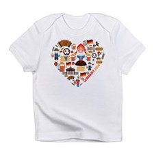Germany World Cup 2014 Heart Infant T-Shirt