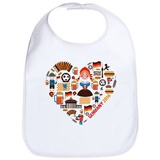 Germany World Cup 2014 Heart Bib