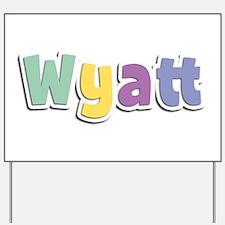 Wyatt Spring14 Yard Sign