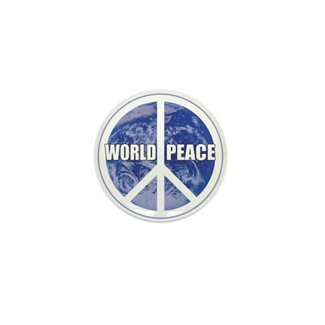 World Peace Mini Button