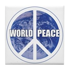 World Peace Tile Coaster