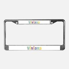 Viviana Spring14 License Plate Frame