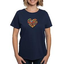 Ghana World Cup 2014 Heart Tee