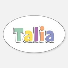 Talia Spring14 Oval Decal