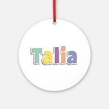 Talia Spring14 Round Ornament