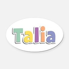 Talia Spring14 Oval Car Magnet