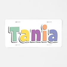 Tania Spring14 Aluminum License Plate