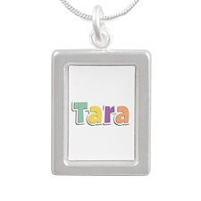 Tara Spring14 Silver Portrait Necklace