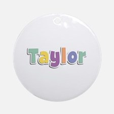 Taylor Spring14 Round Ornament