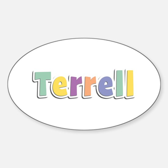 Terrell Spring14 Oval Decal