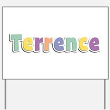 Terrence Spring14 Yard Sign