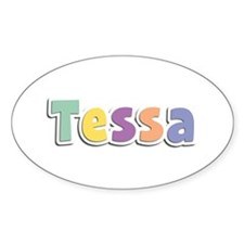 Tessa Spring14 Oval Decal