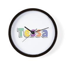 Tessa Spring14 Wall Clock