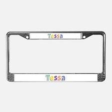 Tessa Spring14 License Plate Frame