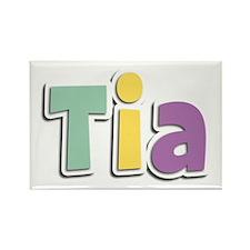 Tia Spring14 Rectangle Magnet