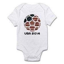 USA World Cup 2014 Infant Bodysuit