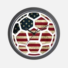 USA World Cup 2014 Wall Clock