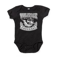 Wolfpack Football Baby Bodysuit