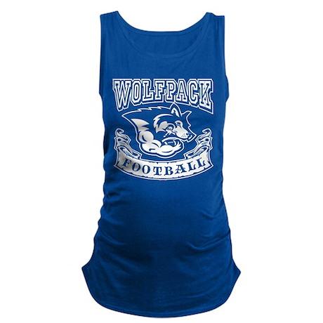 Wolfpack Football Maternity Tank Top